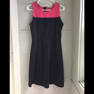 41 Hawthorn Dresses - Navy and pink dress